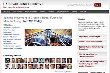 Manufacturing Executive